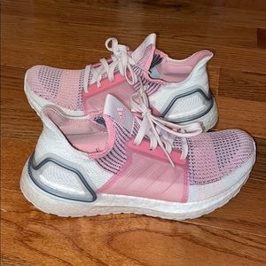 womens pink ultra boost